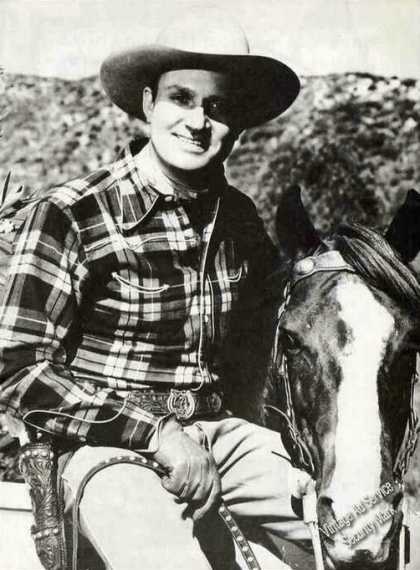 Print Feature Undated Gene Autry Magazine Pic (1999)