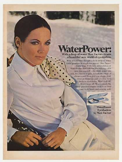 Max Factor WaterPower Eyeshadow (1969)