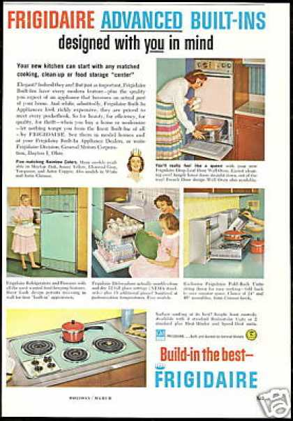 Frigidaire Appliance 5 Photo Vintage (1959)