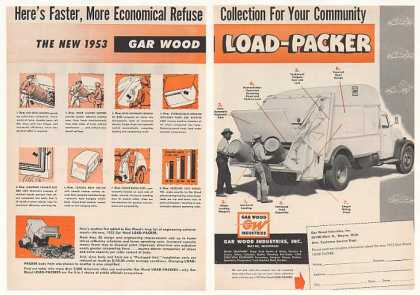 '52 1953 Gar Wood Load-Packer Garbage Truck (1952)
