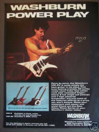 Washburn Hm-5 Electric Guitar Photo (1985)