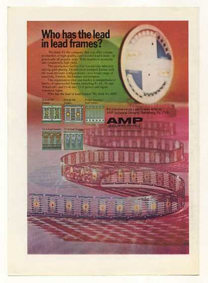 AMP Inc Open-Tooled Lead Frames (1973)