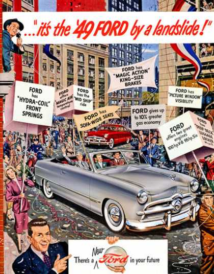 The '49 Ford . . . by a landslide (1949)