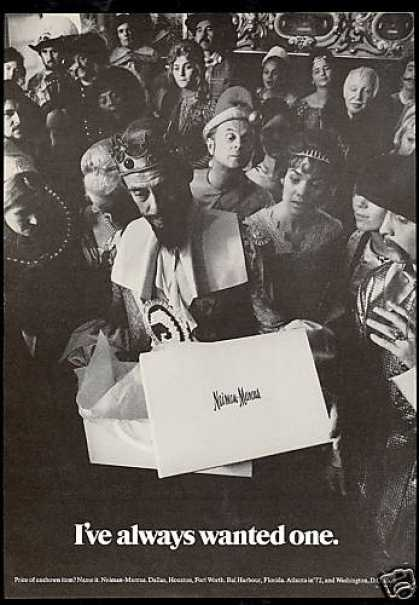 Neiman Marcus Gift King Photo (1971)
