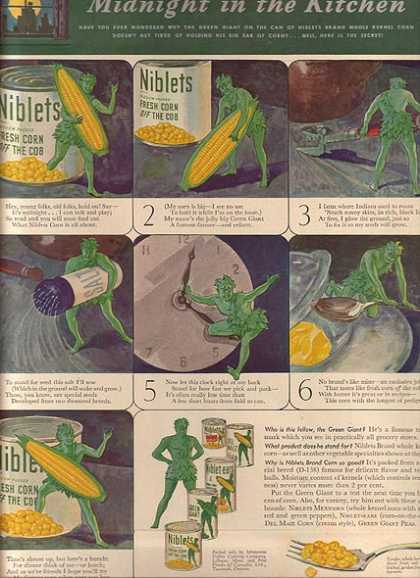 Green Giant's Niblets Corn (1940)