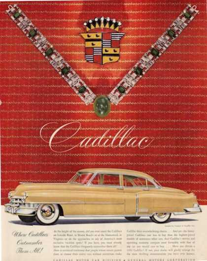 Cadillac Trabert Hoefler Necklace (1950)