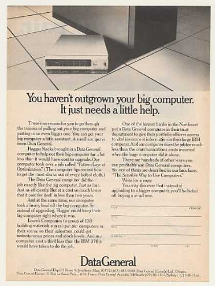 Data General Small Computer (1975)