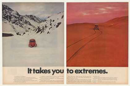 VW Volkswagen Beetle Bug Arctic Sahara Extremes (1969)