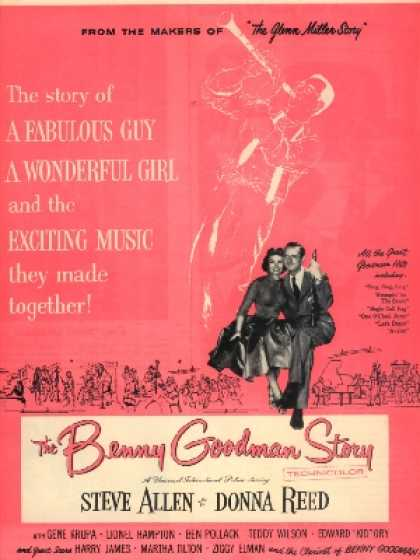 The Benny Goodman Story (Steve Allen and Donna Reed) (1956)