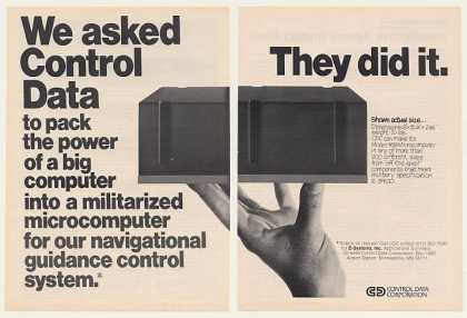 '75 Control Data Model 469 Military Microcomputer 2P (1975)