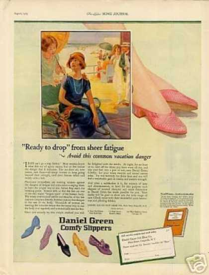 Daniel Green Comfy Slippers (1925)