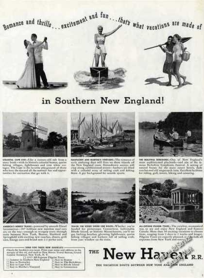 New Haven R.r. Southern New England Photos (1947)