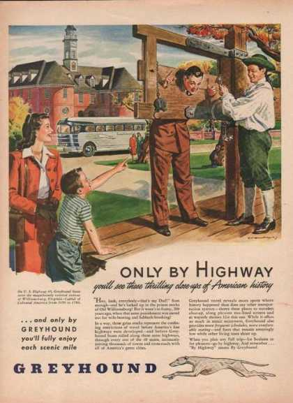Only By Highway Greyhound Bus (1946)