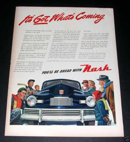 Nash, You'll Be Ahead With Nash (1945)