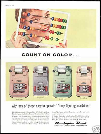 Abacus Photo Remington Rand Adding Machine (1956)
