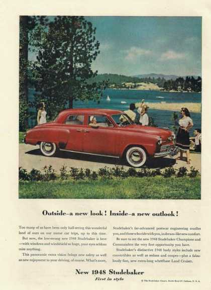 First In Style Studebaker (1948)