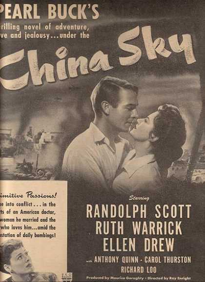 China Sky (Randolph Scott, Ruth Warrick and Ellen Drew) (1944)