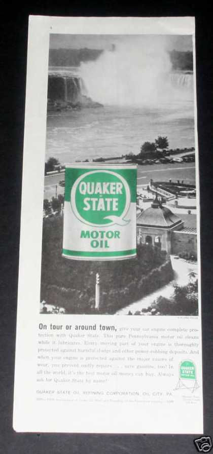Old , Quaker State Oil, Niagara (1959)