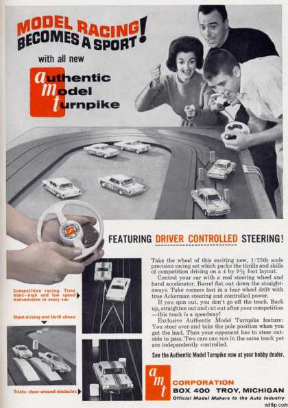 AMT Corporation's AMT Model Racing Set (1962)