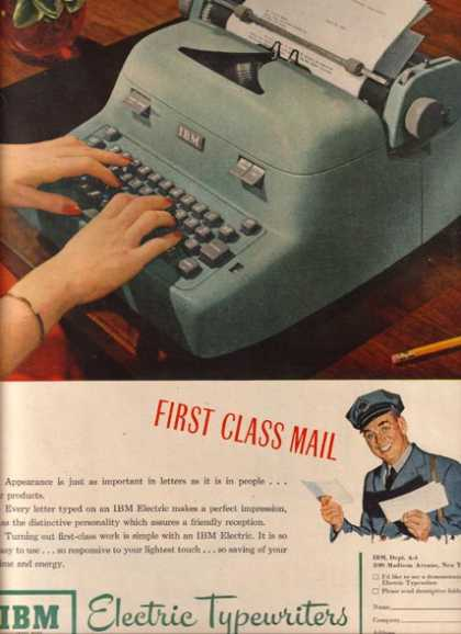 IBM (Electric Typewriter) (1951)