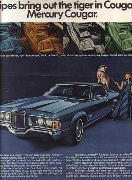 Ford's Mercury Cougar