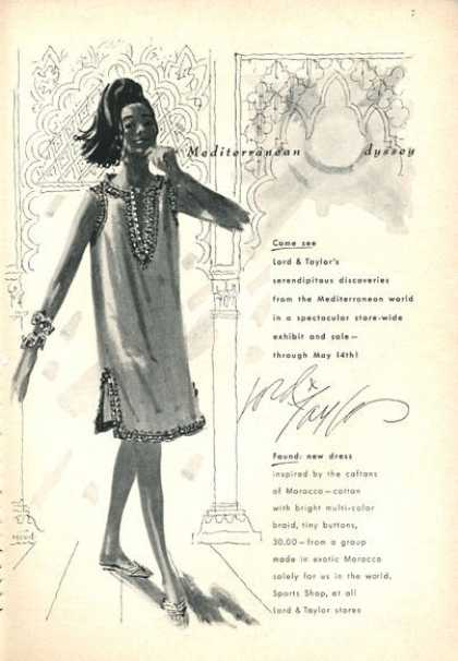 Lord & Taylor Fashion Dress (1966)