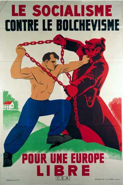 Socialism Against Bolshevism for a Free Europe, 1939-45