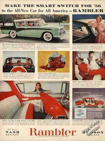 Rambler Photos Collectible Car (1956)