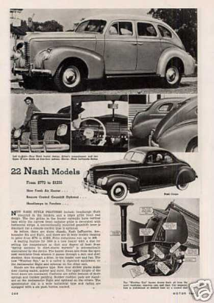 """22 Nash Models"" Article (1938)"