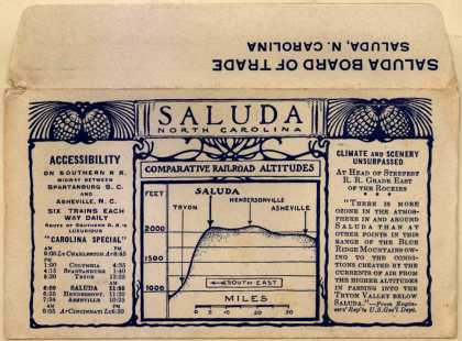Saluda Board of Trade's railway – Saluda North Carolina