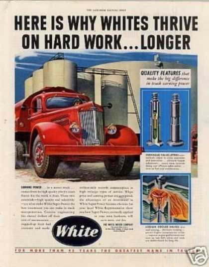 "White Truck Ad ""Here Is Why... (1949)"