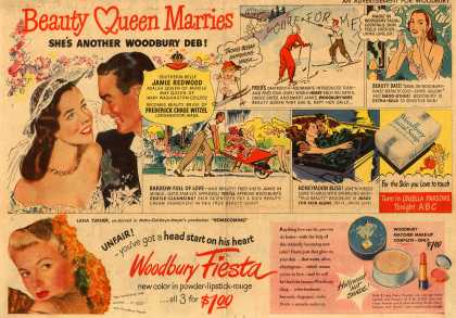 Woodbury's Facial Soap – Beauty Queen Marries (1948)