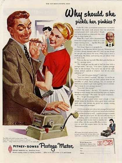 Pitney-bowes Postage Meter (1951)