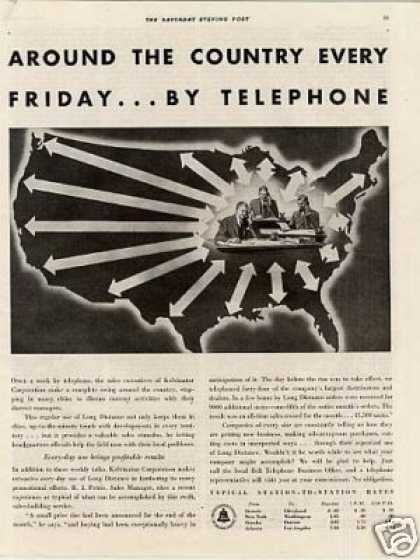 Bell Telephone System (1934)
