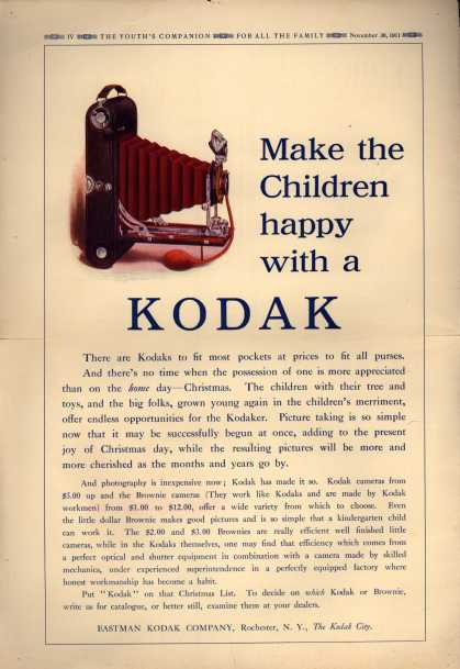 Kodak – Make the Children happy with a Kodak (1911)