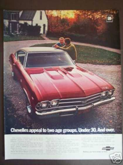 Chevrolet Chevelle Ss Sport Coupe Car Photo (1969)