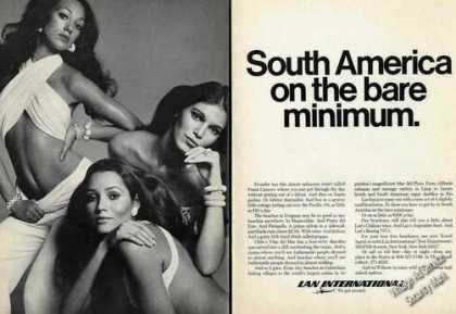 Lan International South America Sexy Women (1970)