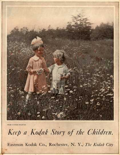 Kodak – Keep a Kodak Story of the Children (1916)