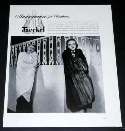 Old , Jaeckel Furs, Magnificen (1939)