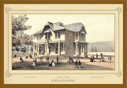 Iowa Building, Centennial International Exhibition (1876)