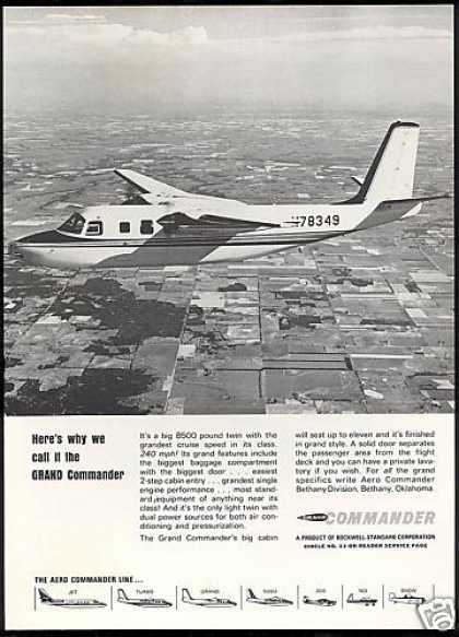 Aero Grand Commander Airplane Photo (1966)
