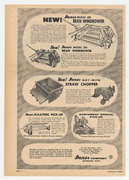 Innes Farm Equipment Farming Implements (1957)