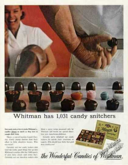Whitman Has 1031 Candy Snitchers Collectible (1965)