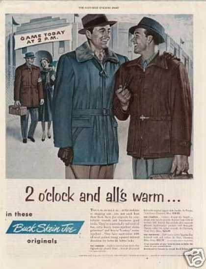 Buck Skein Joe Jackets (1953)