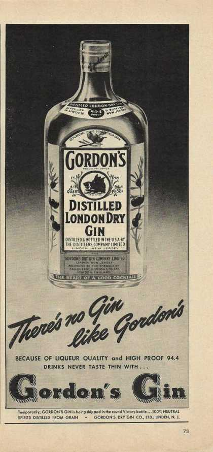 Theres No Gin Like Gordon's (1948)