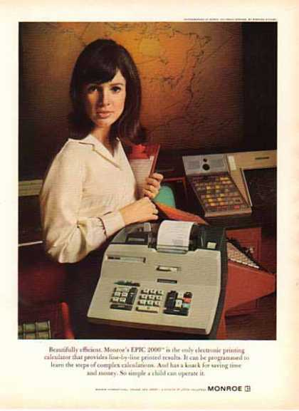 Monroe Epic 1966 – Electronic Calculator (1966)