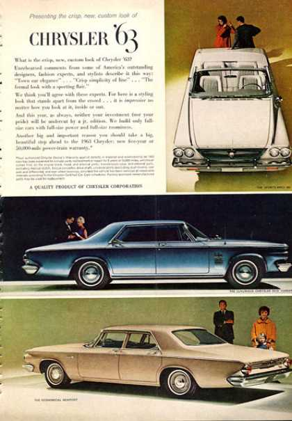 Chrysler New Yorker 300 Convertible Newport (1963)