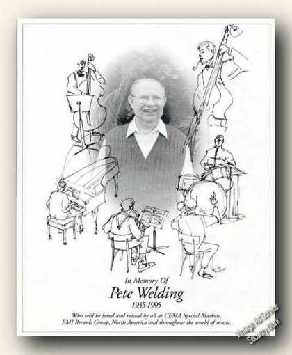 In Memory of Pete Welding Nice Magazine Feature (1995)