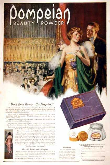 Pompeian Beauty Powder #1 (1919)