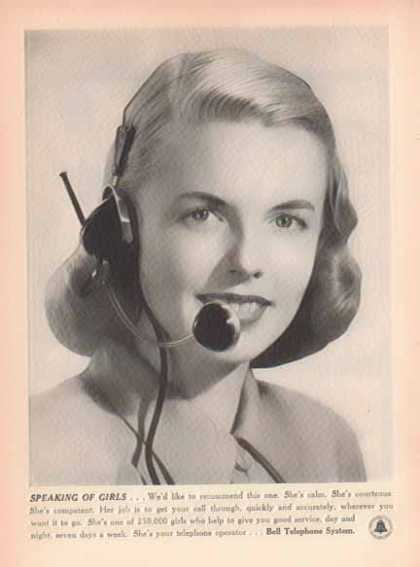 Bell Telephone System – Speaking of Girls (1948)